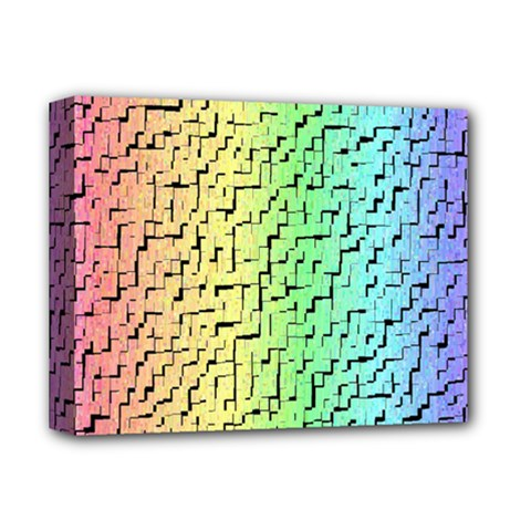 A Creative Colorful Background Deluxe Canvas 14  x 11