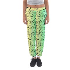 A Creative Colorful Background Women s Jogger Sweatpants
