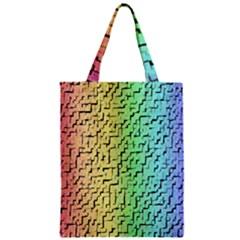 A Creative Colorful Background Zipper Classic Tote Bag