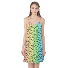A Creative Colorful Background Camis Nightgown