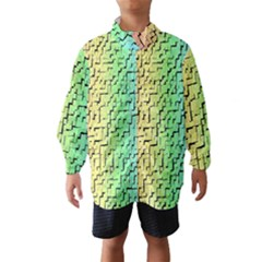 A Creative Colorful Background Wind Breaker (Kids)