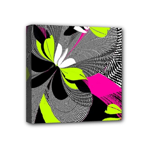 Abstract Illustration Nameless Fantasy Mini Canvas 4  x 4