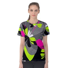 Abstract Illustration Nameless Fantasy Women s Cotton Tee