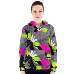 Abstract Illustration Nameless Fantasy Women s Zipper Hoodie