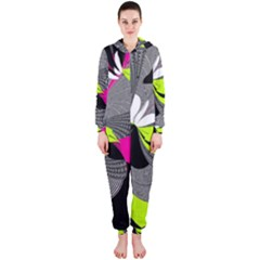 Abstract Illustration Nameless Fantasy Hooded Jumpsuit (ladies)