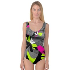 Abstract Illustration Nameless Fantasy Princess Tank Leotard
