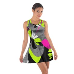Abstract Illustration Nameless Fantasy Cotton Racerback Dress