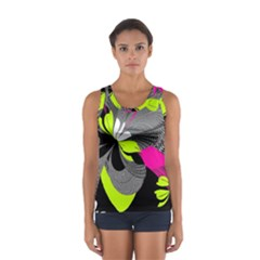 Abstract Illustration Nameless Fantasy Women s Sport Tank Top