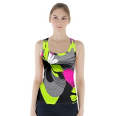 Abstract Illustration Nameless Fantasy Racer Back Sports Top