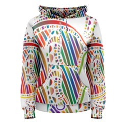 Colorful Fish Animals Rainbow Women s Pullover Hoodie