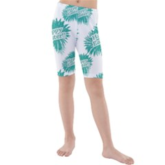 Happy Easter Theme Graphic Print Kids  Mid Length Swim Shorts