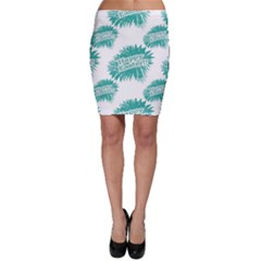 Happy Easter Theme Graphic Print Bodycon Skirt