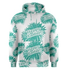 Happy Easter Theme Graphic Print Men s Pullover Hoodie
