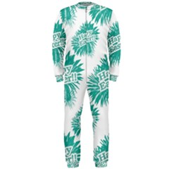 Happy Easter Theme Graphic Print OnePiece Jumpsuit (Men)