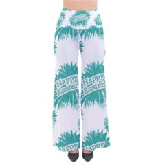 Happy Easter Theme Graphic Print Pants