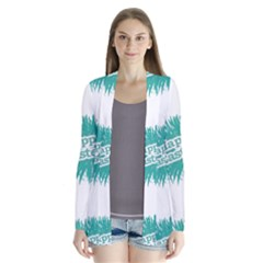 Happy Easter Theme Graphic Print Cardigans