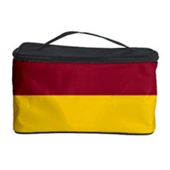 Oswald s Stripes Red Yellow Cosmetic Storage Case