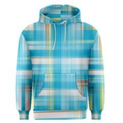 Lines Blue Stripes Men s Pullover Hoodie
