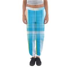 Lines Blue Stripes Women s Jogger Sweatpants
