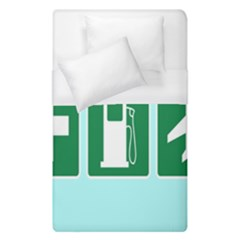 Traffic Signs Hospitals, Airplanes, Petrol Stations Duvet Cover (single Size)
