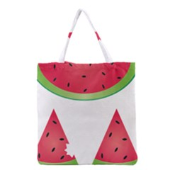 Watermelon Slice Red Green Fruite Grocery Tote Bag
