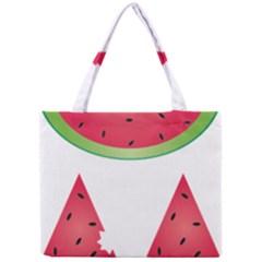Watermelon Slice Red Green Fruite Mini Tote Bag