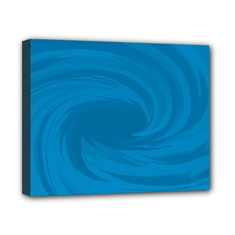 Whirlpool Hole Wave Blue Waves Sea Canvas 10  x 8