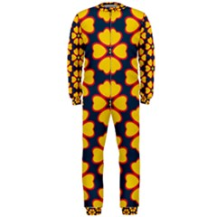 Yellow flowers pattern         OnePiece Jumpsuit (Men)