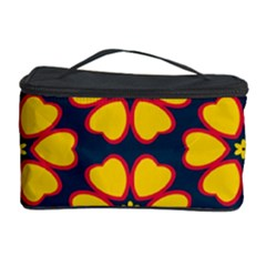 Yellow flowers pattern         Cosmetic Storage Case
