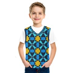Stars Pattern           Kids  Basketball Tank Top
