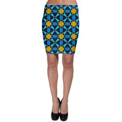 Stars pattern       Bodycon Skirt