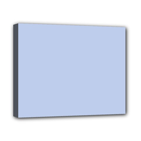 Solid Alice Blue in an English Country Garden Wedding Canvas 10  x 8