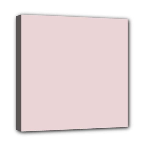 Solid Alice Pink in an English Country Garden Mini Canvas 8  x 8