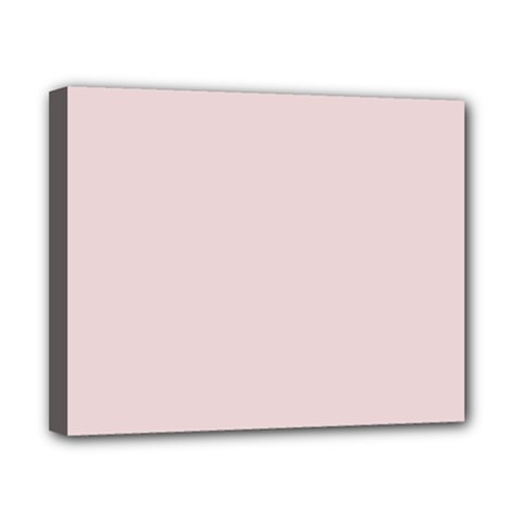 Solid Alice Pink in an English Country Garden Canvas 10  x 8