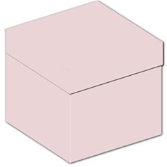 Solid Alice Pink in an English Country Garden Storage Stool 12