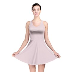 Solid Alice Pink in an English Country Garden Reversible Skater Dress