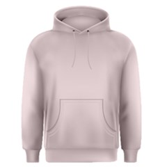 Solid Alice Pink in an English Country Garden Men s Pullover Hoodie