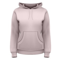 Solid Alice Pink in an English Country Garden Women s Pullover Hoodie