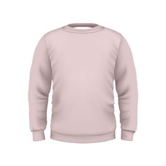 Solid Alice Pink in an English Country Garden Kids  Sweatshirt