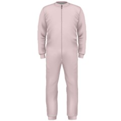 Solid Alice Pink in an English Country Garden OnePiece Jumpsuit (Men)