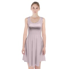 Solid Alice Pink in an English Country Garden Racerback Midi Dress