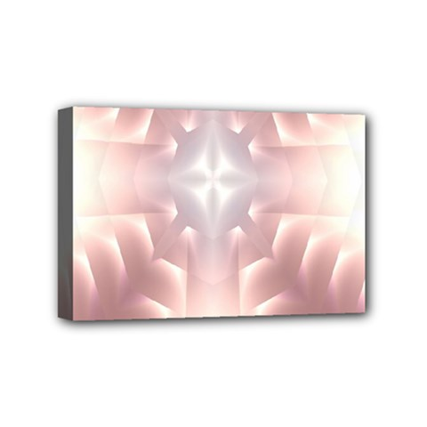 Neonite Abstract Pattern Neon Glow Background Mini Canvas 6  X 4