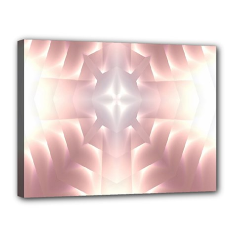 Neonite Abstract Pattern Neon Glow Background Canvas 16  x 12