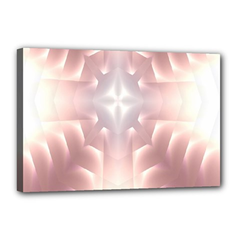 Neonite Abstract Pattern Neon Glow Background Canvas 18  X 12