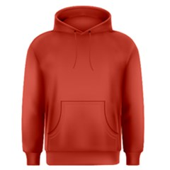 Dahlia Red in an English Country Garden Men s Pullover Hoodie