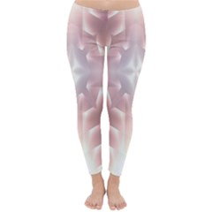 Neonite Abstract Pattern Neon Glow Background Classic Winter Leggings