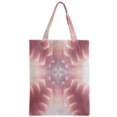 Neonite Abstract Pattern Neon Glow Background Zipper Classic Tote Bag