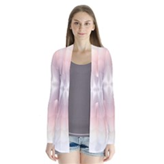 Neonite Abstract Pattern Neon Glow Background Cardigans