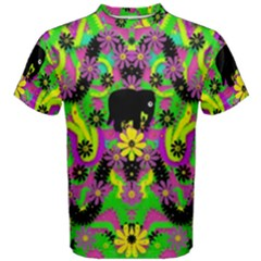 Jungle life and apples Men s Cotton Tee