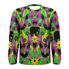 Jungle life and apples Men s Long Sleeve Tee